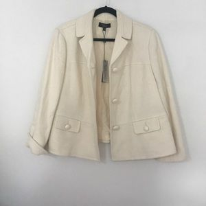 Cream Talbots blazer *offers accepted!*